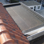 lood en zink afwerking dak